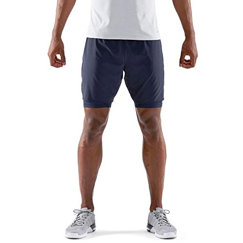 SKINS DNAmic Core Superpose T-Shirt Collant 2in1 Short(s) - XXL