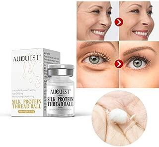 AJUMKER Silk protein thread ball Hydrolyzed protein anti-wrinkle Skin Care Moisturizing anti-aging essence Multifunctional Silk ball