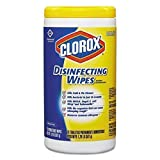 Clorox 15948CT Disinfecting Wipes, 75 Wipes, 6/CT, Lemon Scent