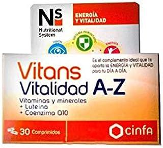N+S VITANS VITALIDAD A-Z 30 COMP