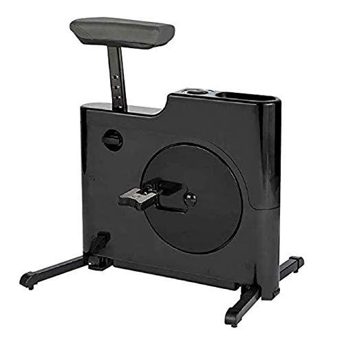 WJFXJQ Inicio Oficina Compactable Plegable En Escritorio Ejercicio Bicicleta Escritorio Escritorio Ejercicio Bicicleta Altura Ajustable Ciclo Ciclo Cuadrado Bicicleta