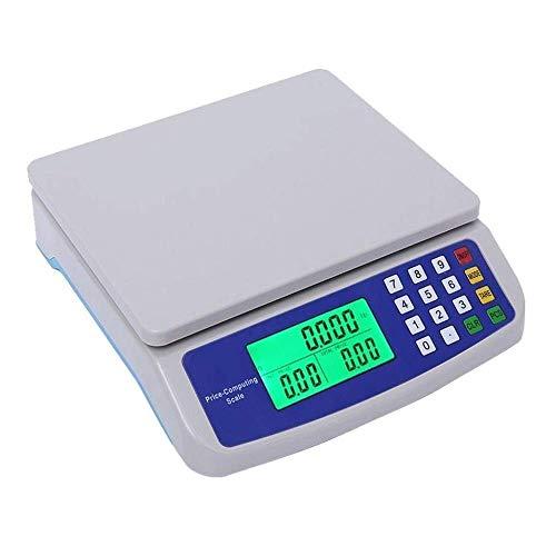 30kg / 1g Digital Bilancia da cucina Prodotti alimentari Bilancia elettronica Accurate Cucinare cottura Frutta Verdura di pesatura 9.14 (Capacità: 30kg-1G), Dimensioni: 30kg-1G (Size : 30kg-1g)