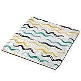 Aeykis Wave Curve Zero Waste Washcloth Towel Face Facial Towel Multi-Purpose Microfiber Towels