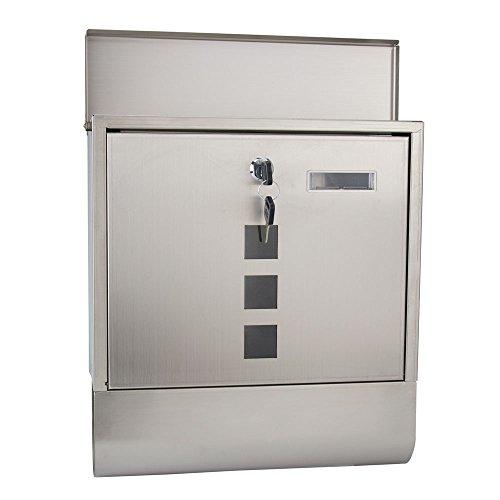 ABN Finest armadietto portachiavi Holder Safe box Store chiudibile a parete in metallo con 20/etichette/ /nero