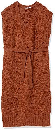 Somedays Lovin Women's Back at The Ranch Longline Vest, Ochre, X-Small/Small
