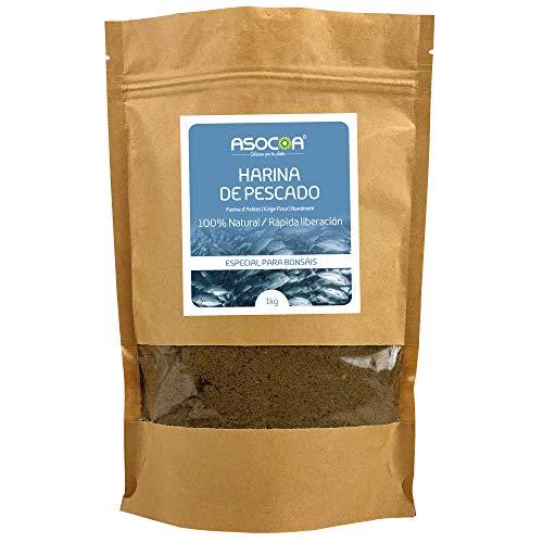 ASOCOA COA113 Harina de Pescado - ECO 1 kg, Marrón, Harina de Pescado - ECO