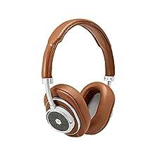 Master & Dynamic MW50+ Wireless Bluetooth Headphones - Premium Over-The-Ear Headphones - Noise Isolating - Studio & Recording Quality Headphones
