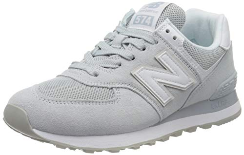 New Balance Damen 574v2 Sneaker, Grau (Grey/White Oaa), 39 EU