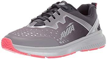 Avia Women s Avi-Maze Sneaker Silver Filigree/Nine Iron/Diva Pink 9.5 Medium US