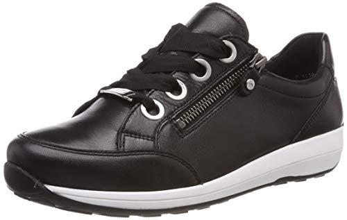 ARA Damen Osaka 1234587 Sneaker, Schwarz (Schwarz 01), 39 EU, 6 UK