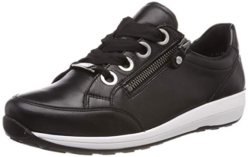 ara Damen OSAKA 1234587 Sneaker, Schwarz (Schwarz 01), 39 EU