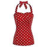 Camisetas Mujer Verano Camisetas Mujer Blusa Mujer Elegante Rojo L