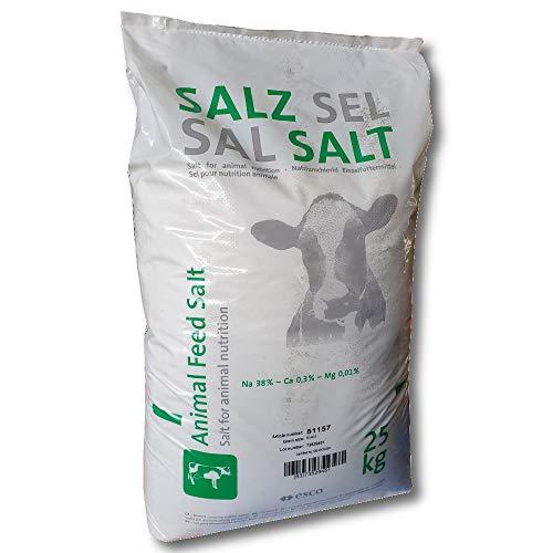 esco Viehsalz 25 kg Natriumchlorid Futtersalz Einzelfuttermittel Natursalz