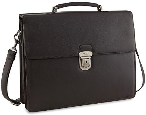 Picard Retro Aktentasche Leder 38 cm Laptopfach