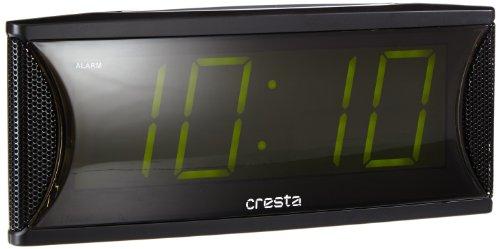 Cresta WI815 Jumbo LED-wekker, groen