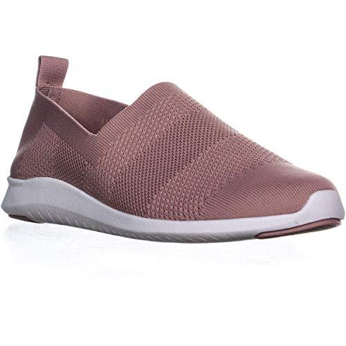 Price comparison product image Ideology Womens Masonn Fabric Low Top Slip On Fashion Sneakers,  Blush,  Size 10.5