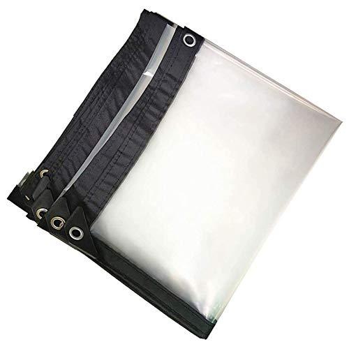 YJHH 3x10m Impermeable Transparente, Carpa Exterior De Plástico, Prueba De Lluvia Fortalecer La Cubierta - para Plantas Invernadero Pet Hutch 5 Mil 120g/m²