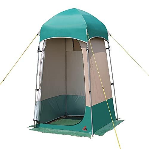 HBCELY Surja el toldo del Vestuario, la Cabina privada de la Piscina portátil, acampando,Tent + Water Bag