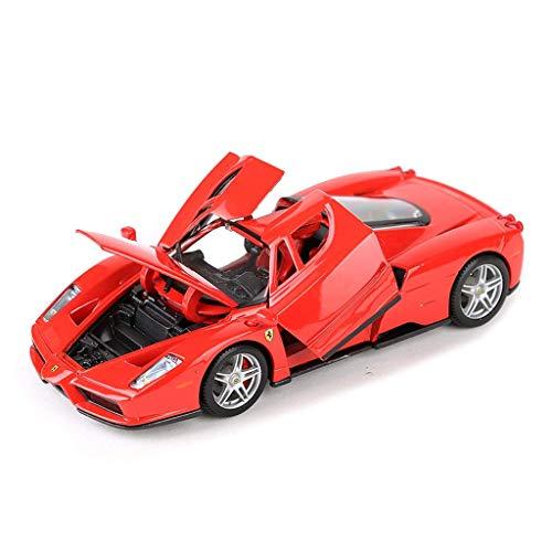 hjj Modelo de Coche Coche 1:24 Ferrari Enzo Ornamentos de Juguete Deportes colección de Autos joyería 19x8x5cm jianyou