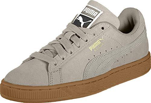 Puma Unisex-Erwachsene Suede Low-top Sneaker, Grau (Elephant Skin Team Gold 47), 40 EU