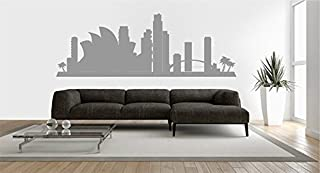 STICKERSFORLIFE Ik2374 Wall Decal Sticker Sydney Australia View City Hall Bedroom Attractions