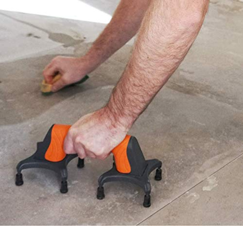EASYLEAN, Trowel Support Tool, drywall & floor support tool. Great for helping set tiles/floor adhesives with ERGONOMIC, RUBBERIZED NON-SLIP GRIP.