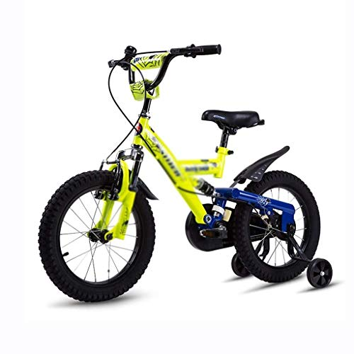 Great Features Of AJZGF Bikes for Kids Children's Bicycles Boys and Girls Big Children Pedal Bicycle 18 inch Anti-Shock Bicycle Childrens Bike (Color : B)