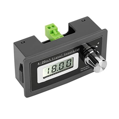 FangWWW 2-Draht, 4-20mA, Stromschleifen-Signalgenerator, Panel-montierter Stromwandler, unterstützt 2,3,4 Drähte