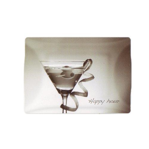 Baci Milano Plateau rectangulaire Cocktail 51 x 36 cm