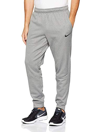 Nike Mens Therma Dri-Fit Training Pants (Carbon Heather, X-Large)