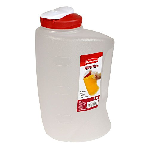 1 gallon mixing pitcher - 9