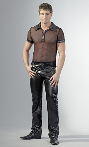 Svenjoyment Herren Wet Jeans schwarz 46 S, 1 Stück