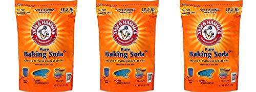ARM & HAMMER Baking Soda, 13.5 Pound (3 Pack)