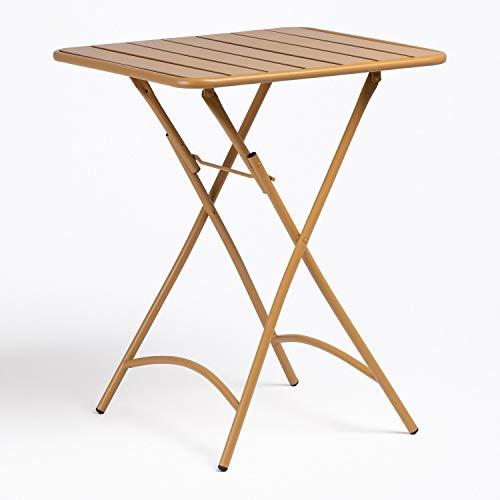 SKLUM Klappbarer Tisch 60 cm Janti Mostaza (mehr Farben)