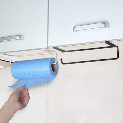 AISHIPING toiletpapier houder keuken onder kasten plank compartiment mand opslag rack kast kast rack handdoek houder