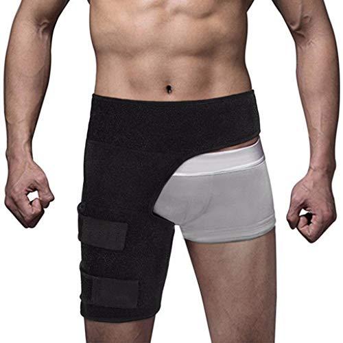 KSER Herren Fitness Leggings Leistengürtel Anti-Muskel-Belastung Hüftgurt Gewichtheben Oberschenkel Sportschutzausrüstung Sportgerät Für Zuhause Fitness Ball entspannen