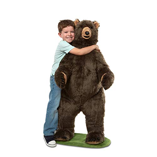 Melissa & Doug Grizzly Bear, Brown (30402)