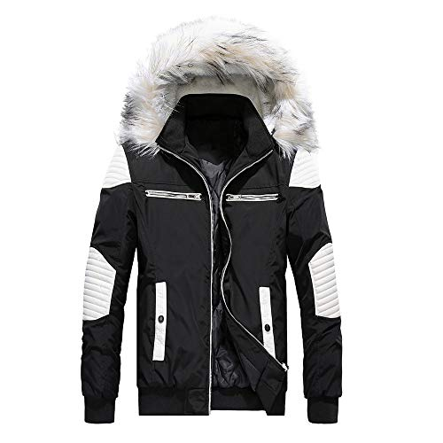 Smoke Rise Unisex All Star Varsity Jacket, Utility Outerwear, Fur Jacket and MA1 Jacket (Smoke Black, M)