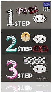 Holika Holika Pig Nose Clear Black Head 3-Step Kit 10EA