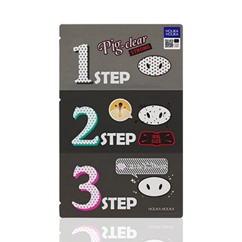 百なめる扇動するHolika Holika Pig Nose Clear Black Head 3-Step Kit 3EA