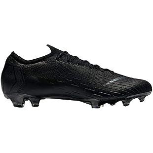 NIKE Unisex Adults' Vapor 12 Elite Fg Fitness Shoes, Black (Black/Black 001), 12 UK