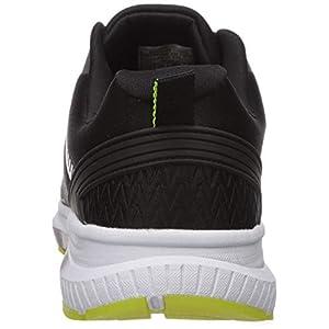 Avia Men's Avi-Maze Sneaker, Black/Lime Punch, 10.5 Wide US