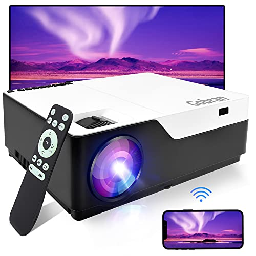 Vidéoprojecteur WiFi natif 1080P Full HD Soutenir 4k,Rétroprojecteur 7500L Screen Mirroring,Vidéo...