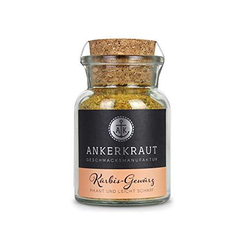 Ankerkraut Kürbisgewürz, zum kochen von Kürbissuppe und Kürbisgerichten, 95g im Korkenglas