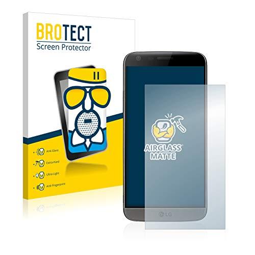 BROTECT Protector Pantalla Cristal Mate Compatible con LG G5 Protector Pantalla Anti-Reflejos Vidrio, AirGlass