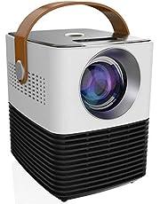 Proyector De Video Mini Proyector P50 Proyector Inalámbrico De Alta Definición para El Hogar Proyector De Video para Ense?Anza En La Oficina Cine En Casacompatible para Cine