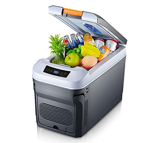 BFCDF Refrigerador de Coche, Refrigerador Congelador Portátil 30L (-4 ° F a 68 ° F), Compresor Eléctrico 12V / 24V DC 220V AC, para Camper Car Truck