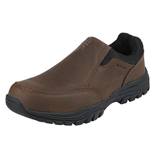 Northside Mens Whitman Loafer, Dark Brown, Size 10.5 M US
