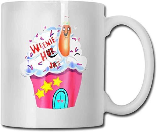 Weenie Hut Jr's Coffee Mug Ceramic Cup 11 Oz Gift for Men and Women Who Love Mugs
