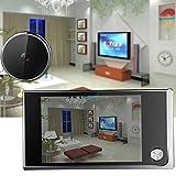 Judas numérique avec écran couleur LCD 8,9 cm Angle de vue 120° HD, Pas de zéro, comme sur l'image, Taille unique